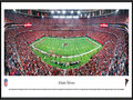 "Picture: Panoramic poster of the Georgia Dome, home of the Atlanta Falcons, professionally framed to 13.75 X 40.25. On June 30, 1965, one of the most significant days in Atlanta's sports history, the National Football League awarded its 15th franchise to the city. Excited fans showed their enthusiasm by purchasing 45,000 season tickets in a brief 54-day period with almost no promotion; an NFL record for a new team. ""Falcons"" was suggested by many, with reasons from a school teacher from Griffin, Georgia, singled out. Miss Julia Elliott said, ""The Falcon is proud and dignified, with great courage and fight. It never drops its prey. It is deadly and has a great sporting tradition."" From the NFL Stadiums collection."