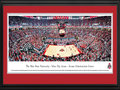 Picture: Ohio State Buckeyes basketball Value City Arena original 13.5 X 40 panoramic print professionally double matted in team colors and framed to 18 X 44. This panorama, taken by Christopher Gjevre, captures the excitement of The Ohio State Buckeyes playing before a sold-out crowd at the Value City Arena � Jerome Schottenstein Center. The largest arena in the Big Ten with seating for 19,500 fans, Value City Arena opened in 1998 and pays tribute to Jerome Schottenstein, the late Columbus businessman and philanthropist. The Buckeyes played their first basketball game in 1898 and have attended the NCAA tournament every decade since the 1930's. The Ohio State University was established in 1870 and is ranked among the top 20 public universities with over 64,000 students. Its main campus is located in Columbus, Ohio.