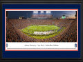 Picture: Auburn Tigers Jordan-Hare Stadium 2013 Iron Bowl win vs. Alabama on kickoff return game panoramic poster professionally double matted in team colors and framed. This panorama spotlights the Auburn Tigers making one of the touchdowns that clinched their spot in the SEC championship game, with a stunning victory over Alabama in the 2013 Iron Bowl. The game came down to the last play when the Tigers returned a missed field-goal attempt for more than 100 yards for a touchdown to lift No. 4 Auburn to a 34-28 victory over No. 1 Alabama. The Iron Bowl is the annual football rivalry played between the two largest public universities in the state of Alabama and this game was one of the most dramatic in the rivalry�s 78-year history, as the fans flooded the field in celebration. This panorama was taken by James Blakeway on November 30, 2013.