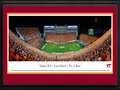 Picture: Just out from the 2015 season! Virginia Tech Hokies Lane Stadium 13 X 40 panoramic poster professionally double matted in team colors and framed to 18 X 44. This panorama, taken by James Blakeway, captures the excitement of a night of Virginia Tech football as the Hokies begin their season. Virginia Tech�s illustrious legacy began in 1892, and the Hokies currently enjoy the longest official bowl game streak in college football, participating in the postseason for more than 20 years. With a fan seating capacity of over 65,000, Lane Stadium/Worsham Field, home to Hokie football, is considered one of the loudest venues in the country. With an exhilarating team entrance, Virginia Tech is said to have one of the best game day atmospheres in all of college football.