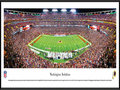 Picture: This panorama has been professionally framed to 13.75 X 40.25. It captures the game-winning touchdown late in the fourth quarter as the Washington Redskins defeat their divisional rival, the New York Giants, on Monday Night Football at FedEx Field. The franchise, filled with rich history, talented alumni and strong traditions, celebrated its 80th anniversary in 2012. Since joining the NFL as the Boston Braves in 1932, the team won the NFL title in 1937 in its first season in Washington, and then added a second world championship in 1942. With multiple playoff appearances and three Super Bowl championships since the AFL-NFL merger, the Redskins are one of the NFL's most storied franchises. From the NFL Stadiums collection.