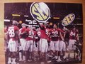 Picture: Alabama Crimson Tide 2009 SEC Champions image 10. We are the exclusive copyright holders of this image. Alabama celebrates the 2009 SEC Championship original 20 X 30 enlargement.