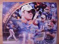 Picture: Tim Tebow final Florida Gators game 16 X 20 print.