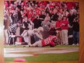 Picture: Michael Bennett Georgia Bulldogs touchdown 8 X 10 photo professionally double matted to 11 X 14.