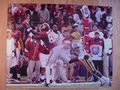 Picture: This is an original Alabama Crimson Tide 2011 BCS National Championship game photo/poster of Kevin Norwood.