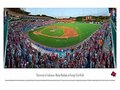 Picture: Arkansas Razorbacks Baum Stadium at George Cole Field baseball stadium original Panoramic poster/print.