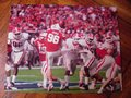 Picture: Shawn Williams and the Georgia Bulldogs block a Nebraska punt for a safety in the 2013 Capital One Bowl original 16 X 20 poster.