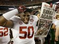 Picture: Alabama Crimson Tide original 8 X 10 2012 BCS National Champions photo!