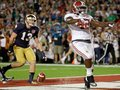 Picture: Eddie Lacy of the Alabama Crimson Tide scores a touchdown against Notre Dame as Alabama wins the 2012 BCS National Champions.