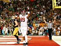 Picture: Alabama Crimson Tide original 2012 BCS National Champions 16 X 20 poster featuring the Michael Williams touchdown.