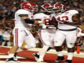 Picture: Alabama Crimson Tide original 2012 BCS National Champions 8 X 10 photo featuring Eddie Lacy, Kelly Johnson and Kevin Norwood.