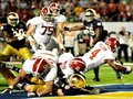 Picture: Alabama Crimson Tide original 2012 BCS National Champions 16 X 20 poster featuring the T.J. Yeldon touchdown.