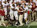 Picture: Alabama Crimson Tide original 2012 BCS National Champions 8 X 10 photo featuring the Nick Saban and Barrett Jones hug.