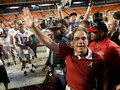 Picture: Alabama Crimson Tide original 2012 BCS National Champions 8 X 10 photo featuring Nick Saban.