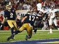 Picture: Alabama Crimson Tide original 2012 BCS National Champions 16 X 20 poster featuring an Eddie Lacy touchdown.