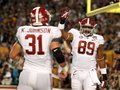 Picture: Alabama Crimson Tide original 2012 BCS National Champions 8 X 10 photo featuring Kelly Johnson and Michael Williams.