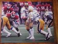Picture: Dan Marino hands off to Wayne DiBartola at the January 1, 1982 Sugar Bowl Pitt Panthers original 16 X 20 poster. Marino was the MVP but DiBartola gained 68 yards on just 13 carries and had a higher yards per carry in the game than Herschel or teammate Thomas. Very clear photo in excellent shape with no pin holes or tears.