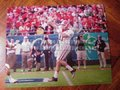 Picture: Aaron Murray leads the Georgia Bulldogs original 20 X 30 poster.