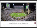 Picture: Mississippi State Bulldogs Davis Wade Stadium at Scott Field 13.5 X 40 panoramic print professionally framed to 13.75 X 40.25. This panorama, taken by James Blakeway, celebrates the 100-year anniversary of Scott Field, as the Mississippi State Bulldog football team took on their first opponent of the 2014 season. Scott Field was named after Olympic sprinter Don Magruder Scott, one of the best athletes ever to play at MSU. As part of the centennial celebration, the north end zone was expanded to accommodate over 61,000 fans, making Davis Wade Stadium at Scott Field the largest on-campus football stadium in the state of Mississippi. It also features two of the largest video boards in college football.