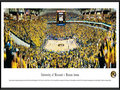Picture: Missouri Tigers Mizzou Arena panoramic print professionally framed. This panorama captures the thrilling victory of the final point free throw between the Mizzou Tigers and Kansas on Feb. 4, 2012. The final score was Missouri 74, Kansas 71. This historic event filled Mizzou Arena to capacity, with 15,061 enthusiastic fans. The University of Missouri was established in 1839 and was the first public institution of higher education west of the Mississippi River. This panorama was taken by James Blakeway.