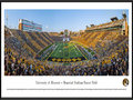 Picture: Missouri Tigers Memorial Stadium/Faurot Field panoramic print professionally framed. This panorama, taken by Robert Pettit, features the Missouri Tigers football team facing Vanderbilt in an inner-conference match-up at Faurot Field. The Tigers victory added to Mizzou�s Homecoming celebration, a tradition that started over 100 years ago. Known as the birthplace of Homecoming, it all began in 1911 when former athletic director Chester Brewer, called for alumni to �come home� for the annual football game versus KU. Today, Mizzou Homecoming has grown into one of the largest student-run celebrations of its kind and was recently named the best Homecoming in the nation. The University of Missouri was founded in Columbia, Missouri, in 1839.
