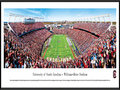 "Picture: South Carolina Gamecocks Williams-Brice Stadium panoramic print professionally framed. This panorama, taken by James Blakeway, spotlights the South Carolina Gamecocks football team living up to their unique moniker with a victory over their opponent and finishing their first sweep of the SEC East. The Gamecocks were named in honor of Thomas Sumter, a South Carolina war hero who fought during the American Revolution. Sumter was given his name, ""The Carolina Gamecock,"" for his fierce fighting tactics. South Carolina fielded its first football team in 1892, against Furman on Christmas Eve in Charleston. In 1992, the Gamecocks moved to the SEC and, in 2010, they won their first SEC Eastern Division Championship, the same year they defeated the #1 ranked team in the country."