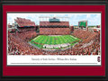 Picture: South Carolina Gamecock Williams-Brice Stadium panoramic print professionally double matted in team colors and framed. This panorama, taken by James Blakeway, captures the on-field action of the South Carolina Gamecocks football team playing at Williams-Brice Stadium. Home to the University of South Carolina Gamecocks, the Stadium is recognized as one of the finest facilities in all of college football, with a brand-new, state-of-the-art high-definition video/score board. Williams-Brice Stadium, formerly Carolina Stadium, was first constructed in 1934 and seated 17,600 fans. Today, after a number of expansions and revisions, it provides seating for 80,250 fans. Carolina annually ranks among the nation's leaders in attendance and, Gamecock fans are regarded as some of the most loyal in the country.