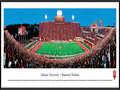 "Picture: Indiana Hoosiers Memorial Stadium 13.5 X 40 panoramic poster professionally framed.This panorama of Memorial Stadium, taken by Christopher Gjevre, highlights the action of an Indiana Hoosiers football game. Memorial Stadium, located in Bloomington, Indiana, opened in 1960. It replaced the ""old"" Memorial Stadium, a 20,000 seat stadium built in 1925. After many renovations, seating capacity now holds 52,692. The Hoosiers football program began in 1887 and competes in the Big Ten Conference. Established in 1820 as the Indiana State Seminary, eight years later the name was changed to Indiana College and officially changed to Indiana University in 1838. Indiana University enrolls 107,000 plus students at all IU campuses."