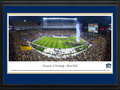 Picture: Pitt Panthers Heinz Field 13 X 40 panoramic print professionally double matted in team colors and framed to 18 X 44. This panorama of Heinz Field was taken by James Simmons. It captures the excitement of the opening game kick-off between the University of Pittsburgh Panthers, in their first game as a member of the Atlantic Coast Conference, playing against Florida State. This nationally televised matchup was the first meeting between the two teams in 30 years. The Panthers have won 3 of the 4 most recent games against Florida State and continue to lead the all-time series 5-4. Florida State was Pitt's highest-ranked season-opening opponent since 1982, when the Panthers hosted No. 5 North Carolina.