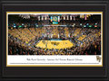 Picture: Wake Forest Demon Deacons Lawrence Joel Veterans Memorial Coliseum 13 X 40 panoramic print professionally double matted in team colors and framed to 18 X 44. This panorama of Wake Forest University - Lawrence Joel Veterans Memorial Coliseum, photographed by Christopher Gjevre, features the Wake Forest Demon Deacons basketball team playing ACC rival Duke University. Since it's opening in 1989, the Deacons have won over 81 percent of their games at this venue. The facility seats 14,665 fans and is home to the raucous Screamin' Demons student section, also known as Tie-Dye Nation, which is shown on the left side of the panorama. The facility is named after Lawrence Joel, a Winston-Salem native awarded the Congressional Medal of Honor. Founded in 1834, Wake Forest University is a private university with enrollment of over 4,300 students.