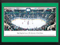 "Picture: North Dakota Fighting Sioux Ralph Engelstad Arena 13 X 40 panoramic print professionally double matted in team colors and framed to 18 X 44. This panorama was taken on December 31, 2011, in the world-class Ralph Engelstad Arena in Grand Forks, North Dakota. The photograph features a game between the University of North Dakota Fighting Sioux and the Harvard University Crimson. This was the final men's hockey game in which UND was officially referred to as the Fighting Sioux. The Ralph Engelstad Arena, often referred to as ""The Ralph,"" is located on the UND campus, seats 11,640 fans and is used primarily for hockey. The arena has been called one of the finest facilities of its kind in the world and was built by UND alumnus Ralph Engelstad. This panorama was taken by Stephanie Mason."