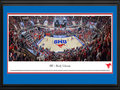 Picture: SMU Mustangs Moody Coliseum 13 X 40 panoramic print professionally double matted in team colors and framed to 18 X 44. This panorama spotlights SMU hosting the first game in the renovated and expanded Moody Coliseum and the Mustangs� first American Athletic Conference home game. Enhancements to the Coliseum included new premium seating, renovation of the entry lobby and concourses and other state-of-the-art upgrades. The project revitalized Moody Coliseum as a preeminent collegiate sports arena and multi-purpose event facility, preserving its historical character while adding the most modern technological enhancements. This nationally-televised and sold-out game saw SMU defeat 15th-ranked UConn, 74-65.