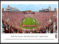 Picture: Just out from the October 31, 2015 Florida State 45-21 win over Syracuse. This 13.5 X 40 panoramic poster of Bobby Bowden Field at Doak S. Campbell Stadium has been professionally framed to 13.75 X 40.25. This panorama, taken by James Blakeway, spotlights the Florida State Seminoles celebrating a glorious afternoon of football at Bobby Bowden Field at Doak S. Campbell Stadium. This nationally televised Florida State victory celebrates the indomitable spirit of the Seminole people and those who have adopted that spirit as a symbol for their university. The victory on Saturday, October 31st was the 531st in the proud history of Seminole football and extended the nation�s longest streak of consecutive winning seasons. The FSU football program began in 1947 and today, is one of the top and most recognizable programs in the nation.