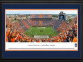 Picture: Just out from the 2015 season and includes the new Jumbotron! This is the newest panoramic of Jordan-Hare Stadium professionally double matted in team colors and framed to 18 X 44. This panorama of Jordan-Hare Stadium, taken by Robert Pettit, highlights the Auburn Tigers playing to a sold-out stadium. The Auburn Tigers began their rich football tradition in 1892 and have amassed a number of records including national and conference championships, bowl titles and an impressive ranking among the most wins in major college history list. Located in Auburn, Alabama, the capacity crowd of 87,451 becomes the sixth-largest city in the state on game days. The fall 2015 season marked the debut of a $13.9 million, 190 by 57 foot, video scoreboard. At 10,830 square feet and over 8.7 million LED lights, it is the largest video scoreboard in college football.