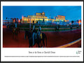 "Picture: Churchill Downs ""Dawn at the Downs"" panoramic poster professionally framed to 13.75 X 40.25. It features Churchill Downs during one of its most beautiful times of the day, dawn. Thoroughbreds can be seen at dawn going through morning paces as they prepare for race campaigns leading up to the annual race meets. Churchill Downs has run the annual Kentucky Derby and Kentucky Oaks continuously since their debut in 1875. The signature Twin Spires were completed as part of a new grandstand in 1895 and would become the symbol of Churchill Downs and the Kentucky Derby."
