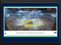 Picture: This 13.5 X 40 panorama has been professionally double matted in team colors and framed to 18 X 44. It captures the moment the Seattle Seahawks have been waiting for - their first World Championship in franchise history. The Seahawks picked up their first Vince Lombardi Trophy after a crushing win over the Denver Broncos. This matchup marked the second time since 1970 that the league�s top-scoring offense faced the NFL�s top-scoring defense. The Seahawks defense dominated the game and ended the evening with a final score of Seattle 43, Denver 8. The Hawks also lay claim to the third youngest quarterback to win a Super Bowl and a head coach that has won both a Super Bowl and a college football national title. From the NFL Stadiums collection.