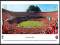 Picture: This panorama of Candlestick Park, the previous home of the San Francisco 49ers, has been professionally framed to 13.75 X 40.25. Itcaptures the excitement of a touchdown play and ultimate victory over a fierce co-conference opponent. As the first major league professional sports franchise to be based in San Francisco, the 49ers were part of the All-American Football Conference until merging with the NFL in 1950. Between 1988 and 1990, the 49ers set an amazing league record with 18 consecutive road victories. The 49ers were also the first NFL franchise to win back-to-back Super Bowls under different head coaches. From the NFL Stadiums collection.
