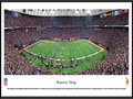 Picture: This panorama has been professionally framed to 13.75 X 40.25. It captures the Minnesota Vikings playing to more than 63,000 football fans at Mall of America Field in the Hubert H. Humphrey Metrodome. The Vikings' 34�3 divisional playoff victory over the Cowboys set a team record for the fewest points allowed in a playoff game and advanced the Vikings to the NFC Championship game. They were the NFC North Champions in both 2008 and 2009, and were undefeated in the Metrodome during the 2009 season. The Vikings first played at the Metropolitan Stadium from 1961 � 1981 and moved to the Hubert H. Humphrey Metrodome in 1982, where they play to one of the noisiest crowds in professional football. From the NFL Stadiums collection.