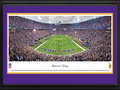 Picture: This 13.5 X 40 panorama has been professionally double matted in team colors and framed to 18 X 44. It spotlights the Minnesota Vikings playing on their home turf at Mall of America Field at the Hubert H. Humphrey Metrodome. With the eyes of the nation on Minnesota, the Vikings did not disappoint and, on a last second field goal, went on to defeat their division rival, the Green Bay Packers, and solidify their position in the playoffs. From the very first game on August 5, 1961, the Minnesota Vikings have been among the National Football League's elite and have proved that winning is a big part of their makeup. Over the past half-century, the Vikings have consistently been at the top of their division. From the NFL Stadiums collection.