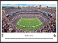 "Picture: This panorama of the Baltimore Ravens playing for their home crowd at M&T Bank Stadium has been professionally framed to 13.75 X 40.25. Known for staging one of the NFL's most exciting gameday experiences, M&T Bank Stadium was completed in 1998 and has a seating capacity of 71,008. The Baltimore Ravens came into existence in 1996, and their name is a reference to the poem ""The Raven"" by Edgar Allan Poe, who lived and worked in Baltimore at various times during his life. The Ravens' championship history includes a victory in Super Bowl XXXV, in addition to multiple division titles and playoff berths. From the NFL Stadiums collection."