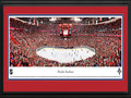 Picture: This 13.5 X 40 panorama of the Bank Atlantic Center has been professionally double matted in team colors and framed to 18 X 44. It captures the action of the Florida Panthers in their first playoff victory in 15 years, beating the New Jersey Devils 4-2. The Panthers were awarded a National Hockey League franchise for Miami in 1992. They were brought into the league and took part in the 1993 expansion draft. In their third season of play, they made it all the way to the Stanley Cup Finals. As a result of realignment in 1998, the Panthers moved to a new division and opened a brand new arena in the South Florida city of Sunrise. In 2003, the Panthers celebrated their tenth anniversary and hosted one of the most exciting NHL All-Star Games in National Hockey League history.