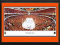 Picture: This 13.5 X 40 features the Philadelphia Flyers at the Wells Fargo Center in their playoff series with the Pittsburgh Penguins and has been professionally double matted in team colors and framed to 18 X 44. The Flyers won the series in six games, to advance to the Eastern Conference semifinals. The Flyers set a team record for power-play goals in a series and have won all 10 series, where they led 3-0. This was also their first series win over Pittsburgh since the 2000 Conference Semifinal. The Flyers were established in 1967 as part of the National Hockey League expansion and went on to complete their inaugural season by finishing atop all other expansion teams in their division.