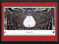 Picture: This 13.5 X 40 panorama captures the jubilation of Minnesota Wild fans as they witness the game-winning overtime goal in Game 3 of the Western Conference quarterfinals at Xcel Energy Center and has been professionally double matted in team colors and framed to 18 X 44. The sensational ending in front of a white-towel-waving crowd of 19,238 fans was the Wild's first postseason victory since April 2008. In 1997, the National Hockey League announced that a franchise would return to the Twin Cities and the Wild began play in 2000, becoming the first NHL franchise in Minnesota since the 1993 season. In the 2002-03 NHL season, the team made its first playoff appearance and made a remarkable run to the Western Conference Finals.