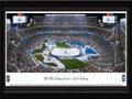 Picture: This 13.5 X 40 panorama of the 2015 Coors Light National Hockey League Stadium Series game at Levi�s Stadium has been professionally double matted and framed to 18 X 44. It features the San Jose Sharks playing host to the Los Angeles Kings, in a regular-season NHL game. This intense NorCal vs SoCal rivalry was moved outside for the first professional hockey game ever played outdoors in Northern California. The Sharks squared off against the defending Stanley Cup Champion Kings, resulting in a final score of Los Angeles 2, San Jose 1. The NHL Stadium Series is hosted at stadiums around the country and celebrates the history and tradition of outdoor hockey.