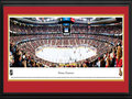 Picture: This 13.5 X 40 panorama captures the action of the Ottawa Senators as they move the puck down the ice at Scotiabank Place and has been professionally double matted in team colors and framed to 18 X 44.. After a 58 year absence the National Hockey Leagaue returned to Ottawa and the Senators were established in 1991 as an expansion team. The Senators were so named because Ottawa is the capital of Canada and the Canadian Senate. In 2006-07, the Senators went to the Stanley Cup Final and the city of Ottawa was swept up in excitement with decorated homes, cars and businesses. The Senators play their home games in a multi-purpose arena, which seats 19,153 fans and is located in Kanata, a suburb of Ottawa, Ontario.
