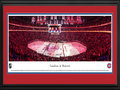 Picture: This 13.5 X 40 panorama of the Montreal Canadiens on home ice in front of a sellout crowd of 21,273 at the Bell Centre has been professionally double matted in team colors and framed to 18 X 44. . Founded on December 4, 1909, the Canadiens have the extraordinary distinction of winning the Stanley Cup Championship more times than any other franchise in National Hockey League history.