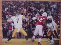 Picture: Ben Roethlisberger Pittsburgh Steelers Super Bowl photo of the team's win vs. the Arizona Cardinals.