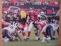 Picture: Matt Ryan audibles Atlanta Falcons 12 X 18 panoramic print.