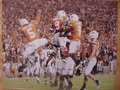 """Picture: Texas Longhorns """"Unity"""" 12 X 18 panoramic print."""